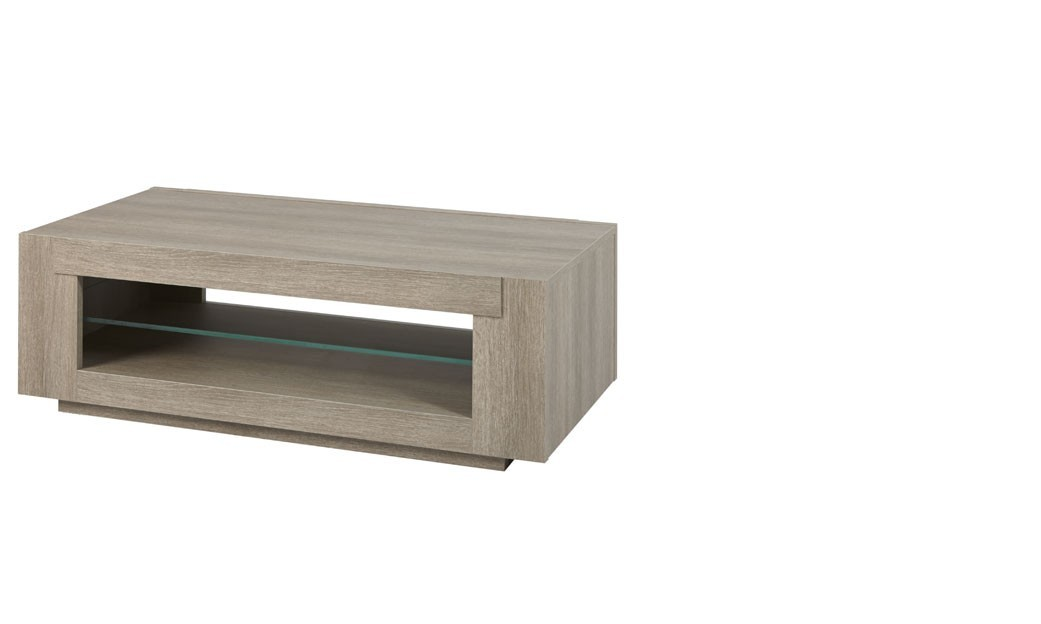 Table basse moderne couleur ch ne gris xavier - Table basse industrielle pas chere ...