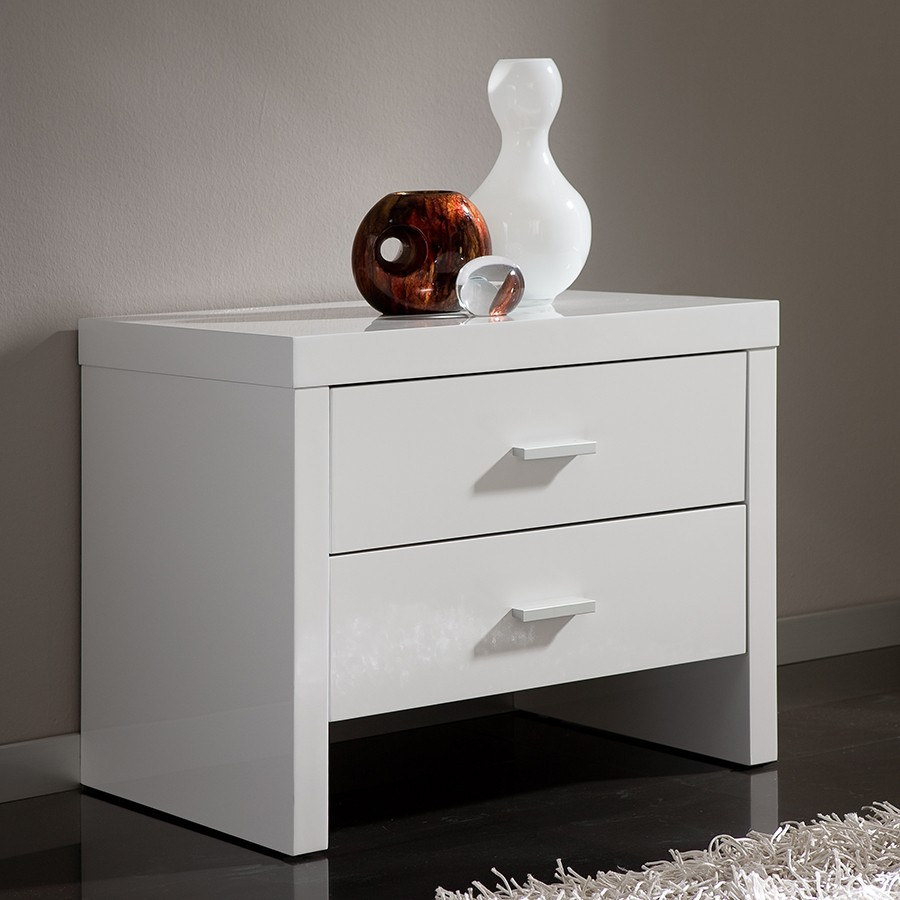 table de chevet design 2 tiroirs tino zd1 chv a d
