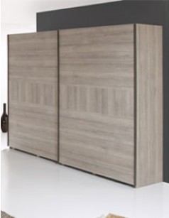 Armoire contemporaine couleur chêne naturel RICHARD