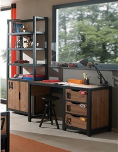 bureau pour enfant et adolescent aux mat riaux de qualit. Black Bedroom Furniture Sets. Home Design Ideas