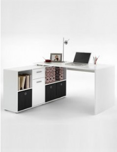 bureau d 39 angle pratique aux mat riaux de qualit. Black Bedroom Furniture Sets. Home Design Ideas