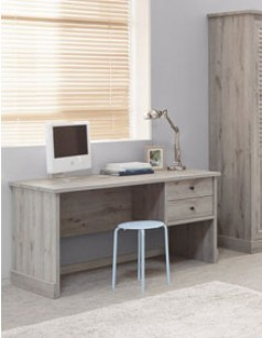 bureau contemporain couleur ch ne gris lanette 2. Black Bedroom Furniture Sets. Home Design Ideas