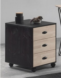 caisson de bureau moderne en bois lilian. Black Bedroom Furniture Sets. Home Design Ideas