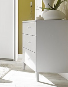 Commode blanche design LUCREZIA