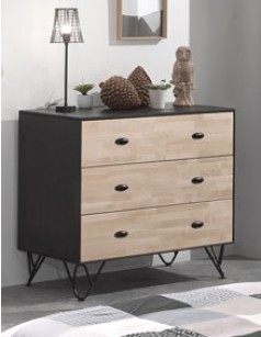 commode enfant moderne en bois lilian. Black Bedroom Furniture Sets. Home Design Ideas
