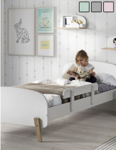 lit enfant scandinave elina coloris au choix. Black Bedroom Furniture Sets. Home Design Ideas