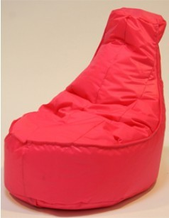 Pouf chaise en nylon FUN, coloris Fuschia
