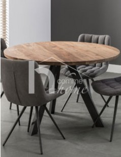 table ronde table ronde ikea bjursta extensible with. Black Bedroom Furniture Sets. Home Design Ideas