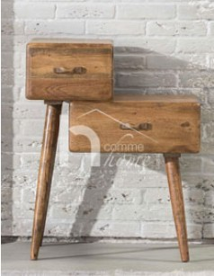 Table d'appoint design en bois TYLER 2