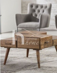 Table basse design en bois TYLER