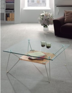 Table basse en verre design DUCHESSE