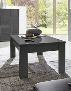 Table basse design laqué gris ATMORE 2