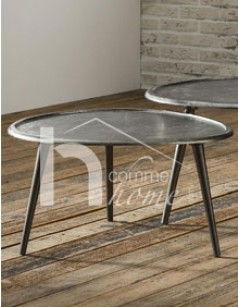 Table basse design en métal BURT
