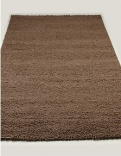 Tapis de salon shaggy TURIN MARRON
