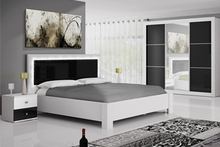 Belle chambre adulte design et fonctionnelle for Chambre complete design
