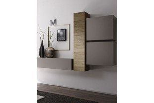 el ment mural de salon contemporain hcommehome. Black Bedroom Furniture Sets. Home Design Ideas