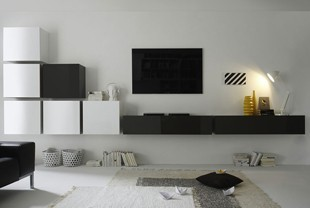 page 3 meuble tv mural design pour un salon tendance. Black Bedroom Furniture Sets. Home Design Ideas