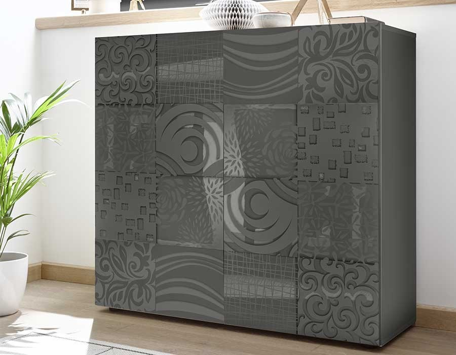 Buffet gris anthracite