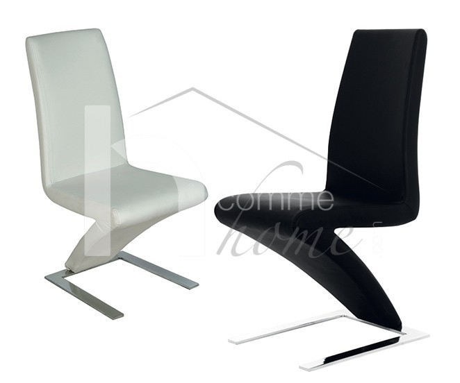Lot De 2 Chaises Salle A Manger Design En Pu Cloud