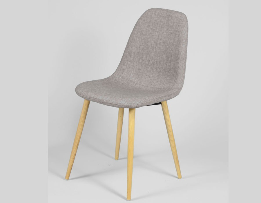 Chaise grise scandinave for Chaise 4 en 1