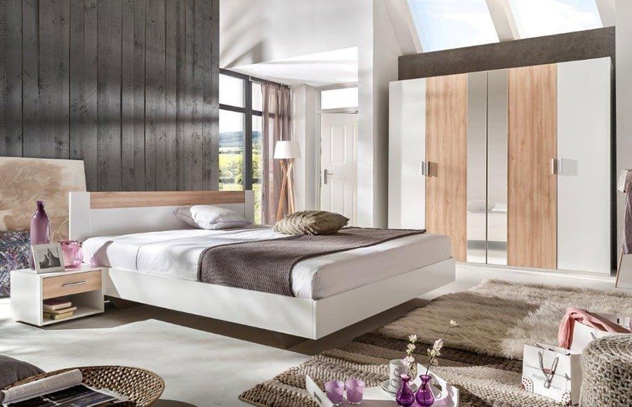 Chambre A Coucher Moderne En Bois. Great With Chambre A Coucher ...
