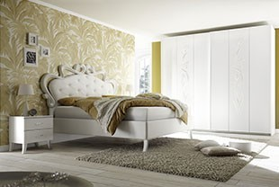 Chambre pour adulte design blanche | HcommeHome
