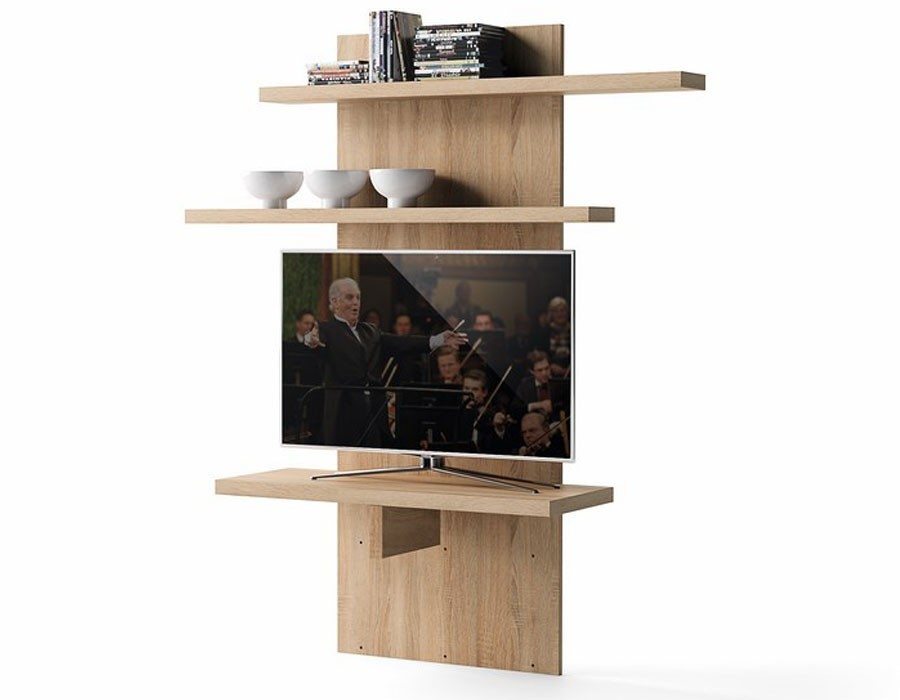 etagere meuble tv. Black Bedroom Furniture Sets. Home Design Ideas