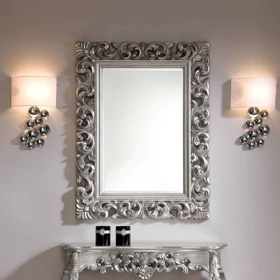 Grand miroir mural pas cher remc homes for Grand miroir baroque pas cher