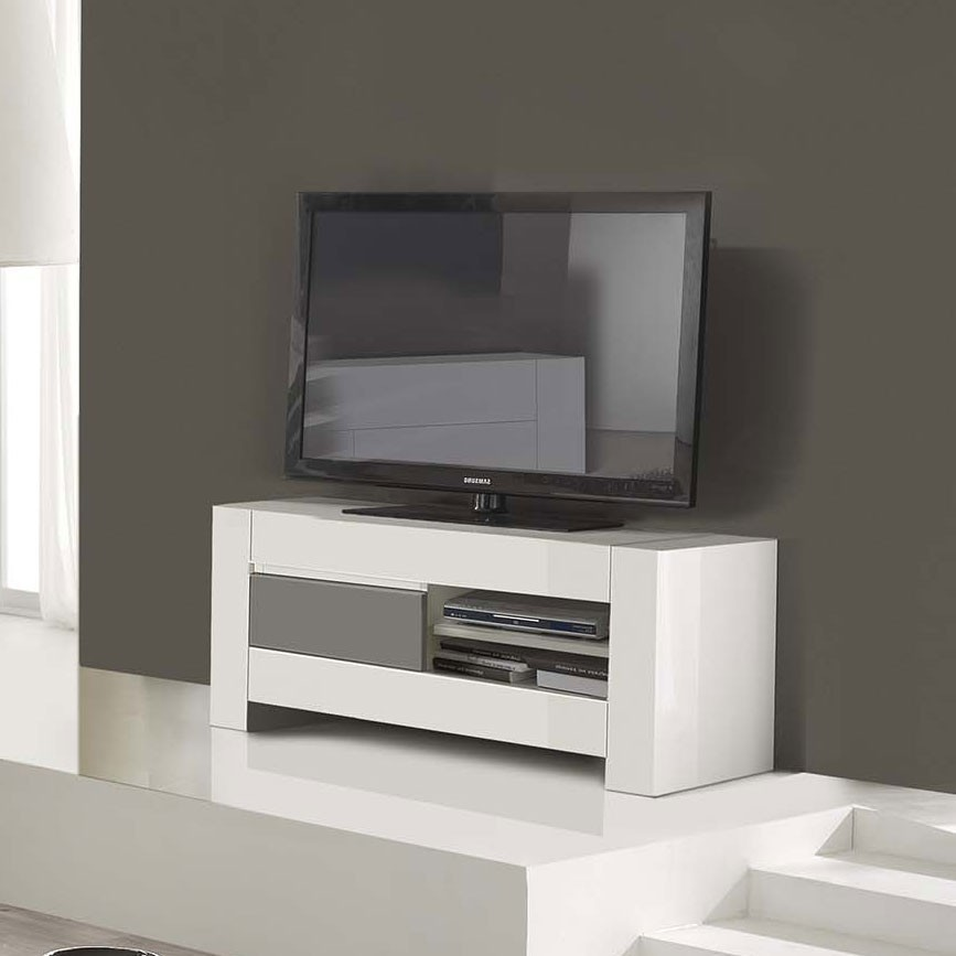 Petit meuble tv design maison design for Petit meuble tv suspendu