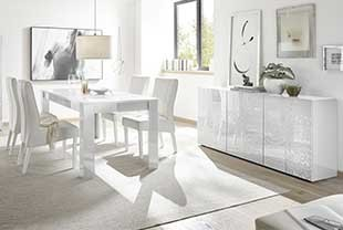 Salle A Manger Blanche Design Hcommehome