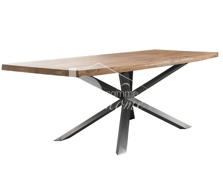 Table a manger industrielle awesome table a manger industrielle omahya 36 best images about - Table a manger industrielle extensible ...