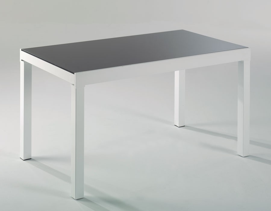 Table Extensible Blanc Laque Design Hcommehome