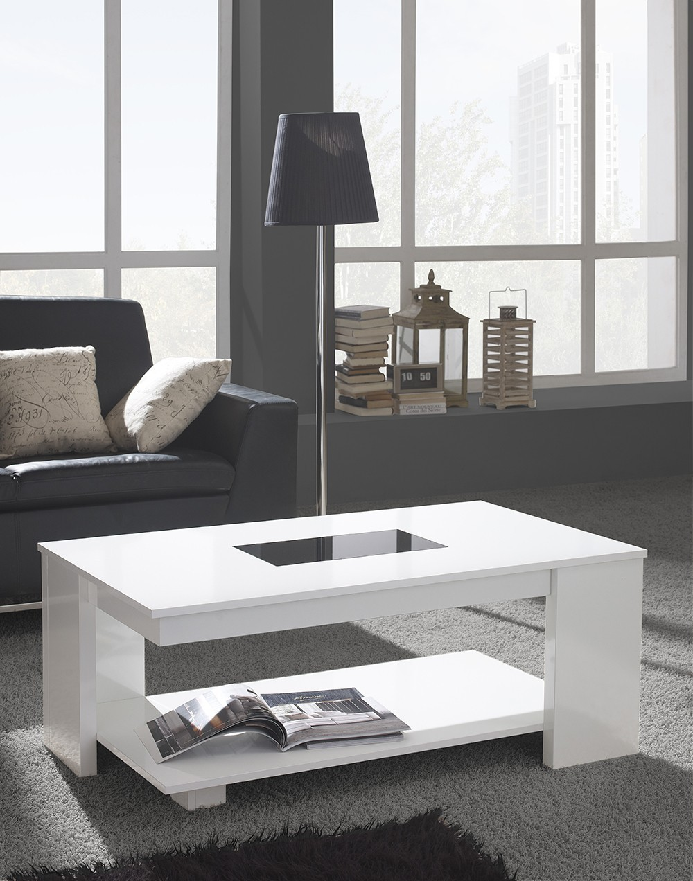 Table basse relevable RICCARDO, disponible en 3 coloris