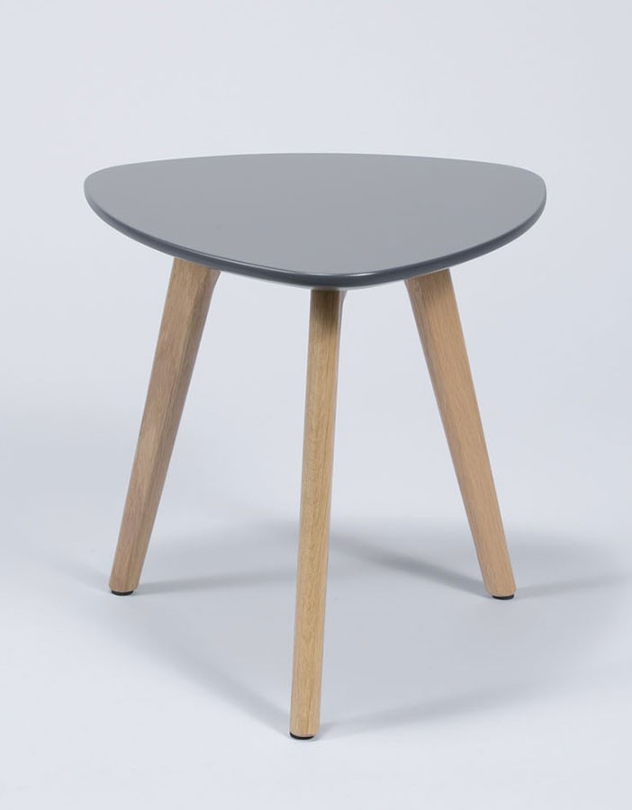 Table d'appoint design grise ODIN 2