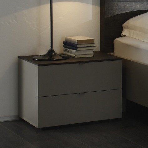 table chevet taupe. Black Bedroom Furniture Sets. Home Design Ideas