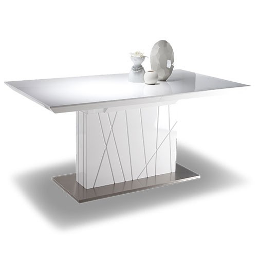 Table salle a manger pied central maison design for Table salle a manger 3 metres